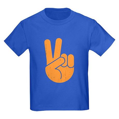 International Peace Hand Kids Dark T-Shirt