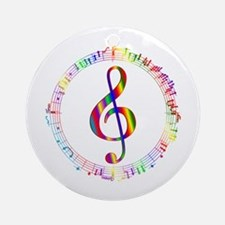 Music in the Round Ornament (Round)