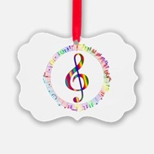 Music in the Round Ornament