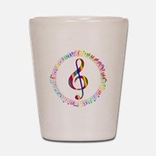 Music in the Round Shot Glass