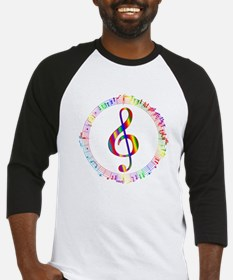 Music in the Round Baseball Jersey