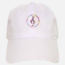 Music in the Round Baseball Baseball Cap