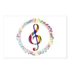 Music in the Round Postcards (Package of 8)