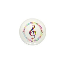 Music in the Round Mini Button (10 pack)