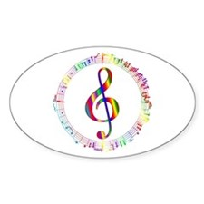 Music in the Round Decal