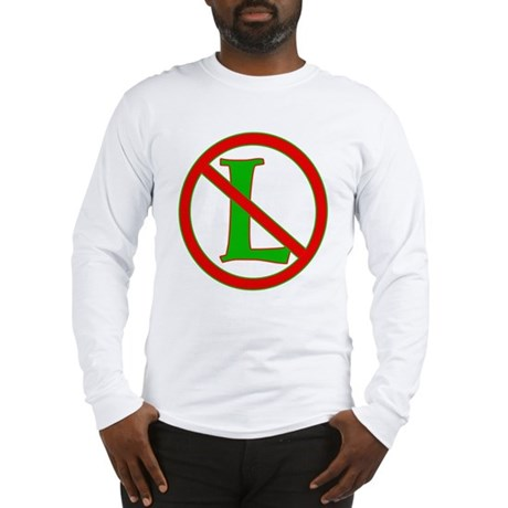 "No ""L"" Long Sleeve T-Shirt"