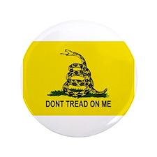 """Gadsden Flag 3.5"""" Button"""
