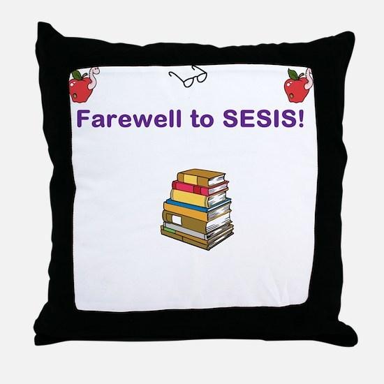 SESIS Throw Pillow