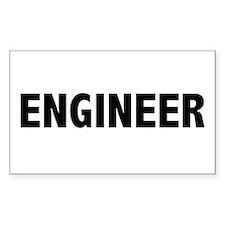 Engineer Rectangle Decal