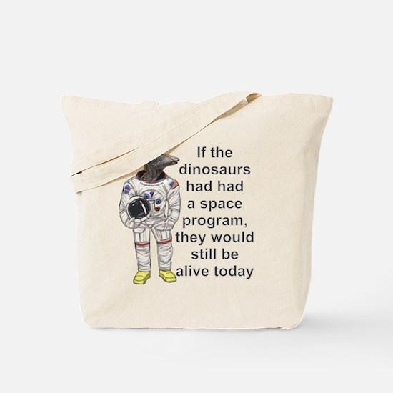 SpaceDino 1 Tote Bag