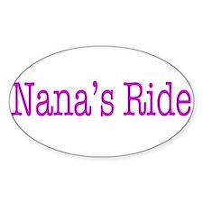 Nanas Ride Decal