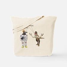 Space Dino 5 Tote Bag
