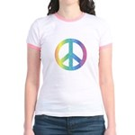 Love & Peace Jr. Ringer T-Shirt