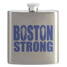 Boston Strong Blue Flask