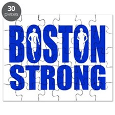 Boston Strong Blue Puzzle