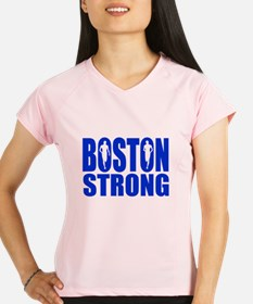 Boston Strong Blue Performance Dry T-Shirt