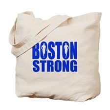 Boston Strong Blue Tote Bag