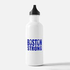 Boston Strong Blue Water Bottle