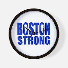 Boston Strong Blue Wall Clock