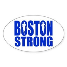 Boston Strong Blue Decal