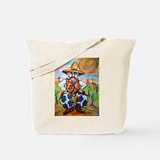 Cowboy! Fun western art! Tote Bag