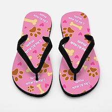 Cavachon Mom Gift Flip Flops