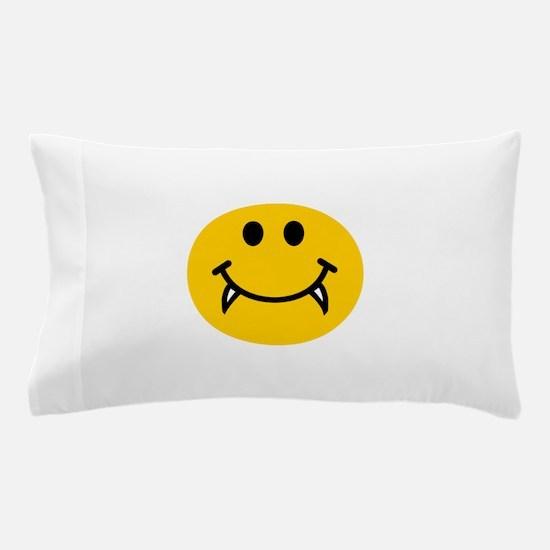 Vampire smiley face Pillow Case