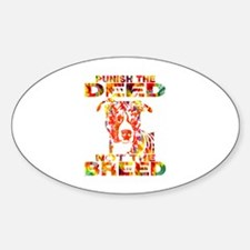 PUNISH THE DEED NOT THE BREED TD2E Decal