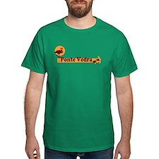 Ponte Vedra - Beach Design. T-Shirt