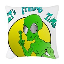 probing.png Woven Throw Pillow