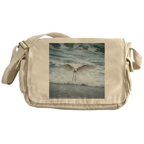 Born of sea-foam Messenger Bag