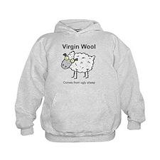 Virgin Wool Hoodie