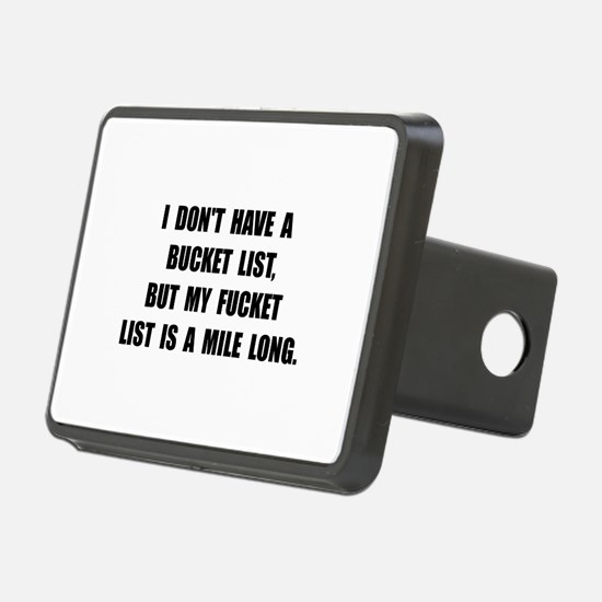 Bucket Fucket List Hitch Cover