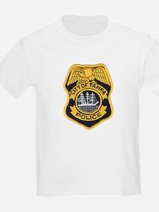Tampa Police Kids T-Shirt