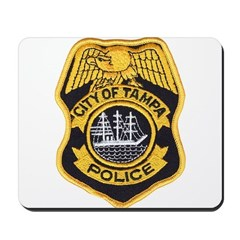 Tampa Police Mousepad
