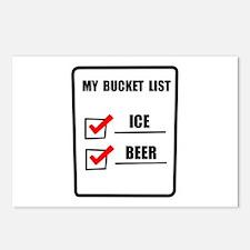 Bucket List Beer Postcards (Package of 8)