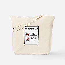 Bucket List Beer Tote Bag