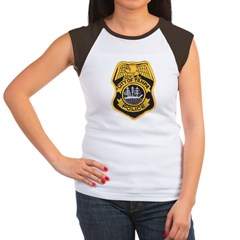 Tampa Police Women's Cap Sleeve T-Shirt