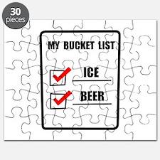Bucket List Beer Puzzle