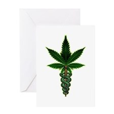Funny Medical marijuana Greeting Card