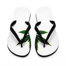 Cool Cannabis Flip Flops
