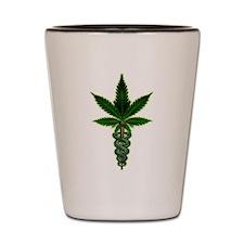 Cute Weeds Shot Glass