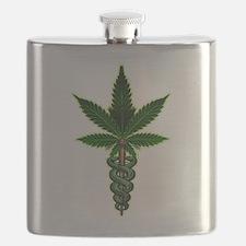 Cute Medical marijuana Flask