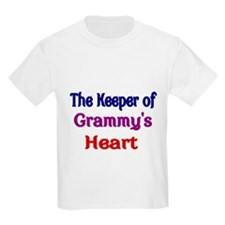 The keeper of Grammys Heart T-Shirt