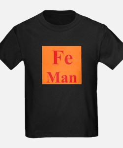 IronMan (Fe Man) Be the Ironman... of Chemistry T-