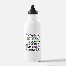 Kendama Block Water Bottle