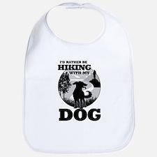 I'd Rather Be Hiking With My Dog Scene Bib