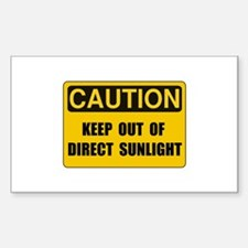 Direct Sunlight Decal