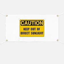 Direct Sunlight Banner