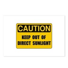 Direct Sunlight Postcards (Package of 8)